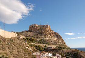 Parkings Castillo de Santa Bárbara en Alicante - Reserva al mejor precio