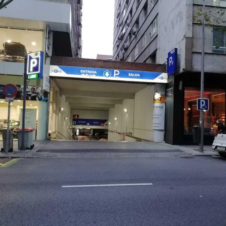 Parking Public APK2 EDGAR NEVILLE (Couvert) Madrid