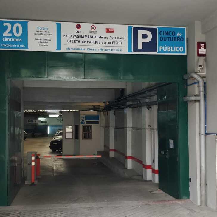 Parking Público 5 DE OUTUBRO (Cubierto) Porto