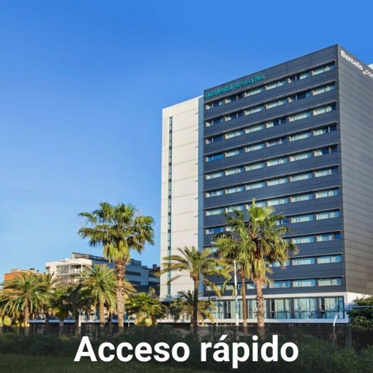 OCCIDENTAL ATENEA MAR Hotel Parking (Overdekt) Barcelona