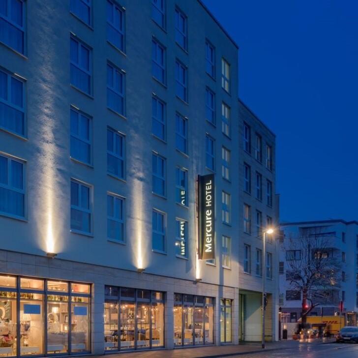 MERCURE HANNOVER MITTE Hotel Car Park (External) Hannover