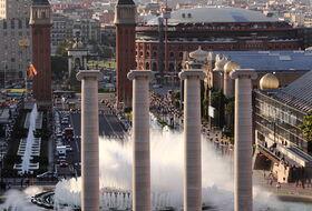 Parkings Fuente Mágica de Montjuic en Barcelona - Reserva al mejor precio