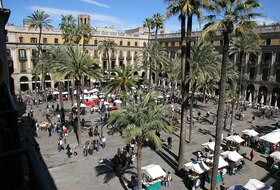 Plaza Real car parks in Barcelona - Book at the best price