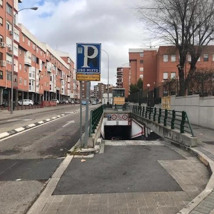 Parking Público VERDAGUER Y GARCÍA IPARK (Cubierto) Madrid