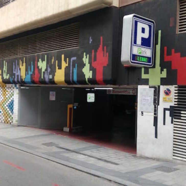 Parking Public POETA QUINTANA IPARK (Couvert) Alicante (Alacant)