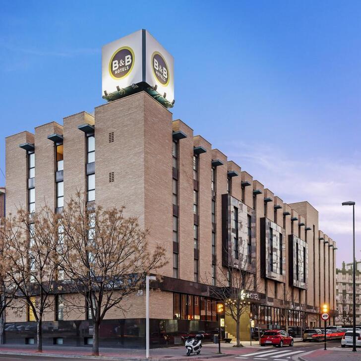 Estacionamento Hotel B&B HOTEL ZARAGOZA LOS ENLACES ESTACIÓN (Coberto) Zaragoza