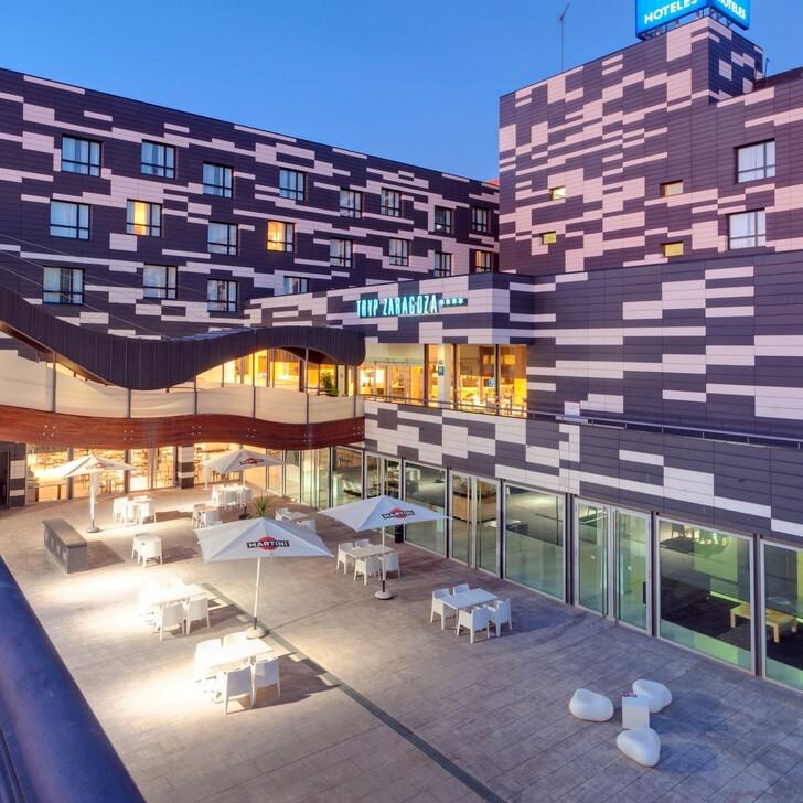 HOTEL ZENTRAL AVE ZARAGOZA Hotel Car Park (Covered) Zaragoza