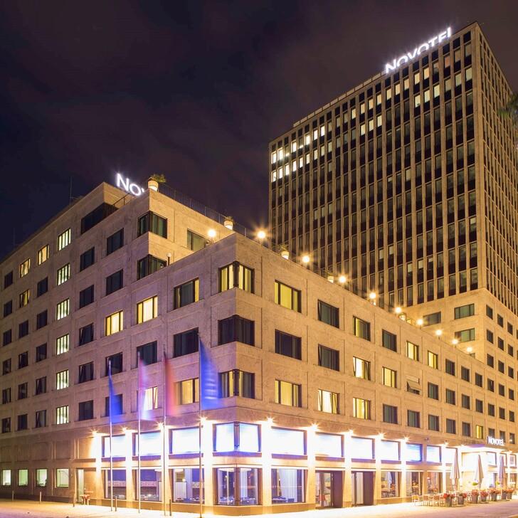 Parking Hôtel NOVOTEL BERLIN AM TIERGARTEN (Couvert) Berlin