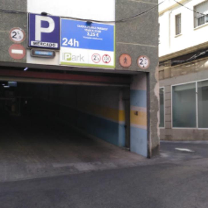 Parking Public MERCADO DE ABASTOS - PARKING DEL FERRY (Couvert) Algeciras