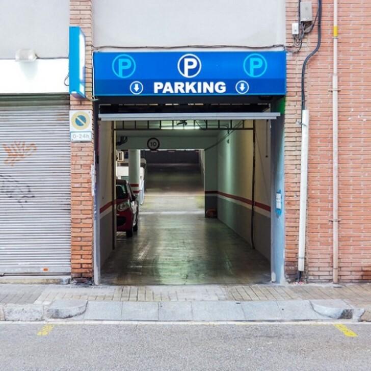 GUINARDÓ - VIRREI AMAT Public Car Park (Covered) Barcelona