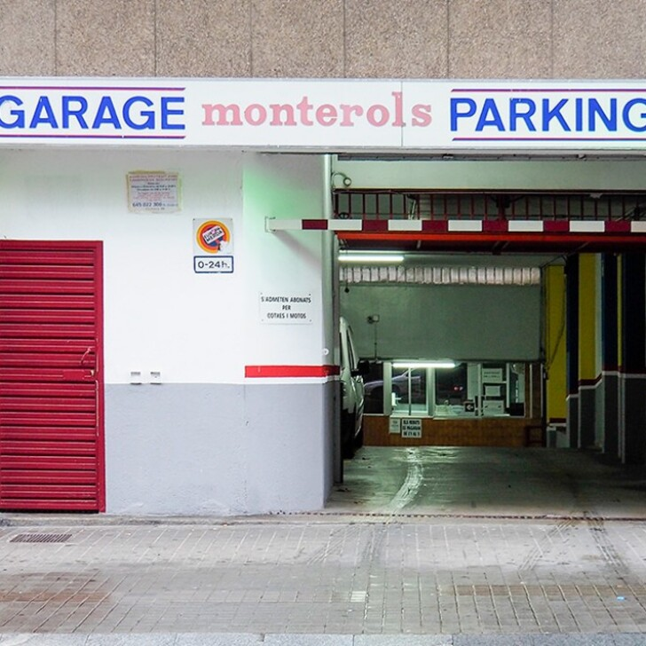 Parking Public TASMISU - MONTEROL (Couvert) Barcelona