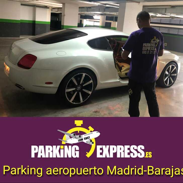 Parking Service Voiturier PARKINGEXPRESS (Couvert) Madrid