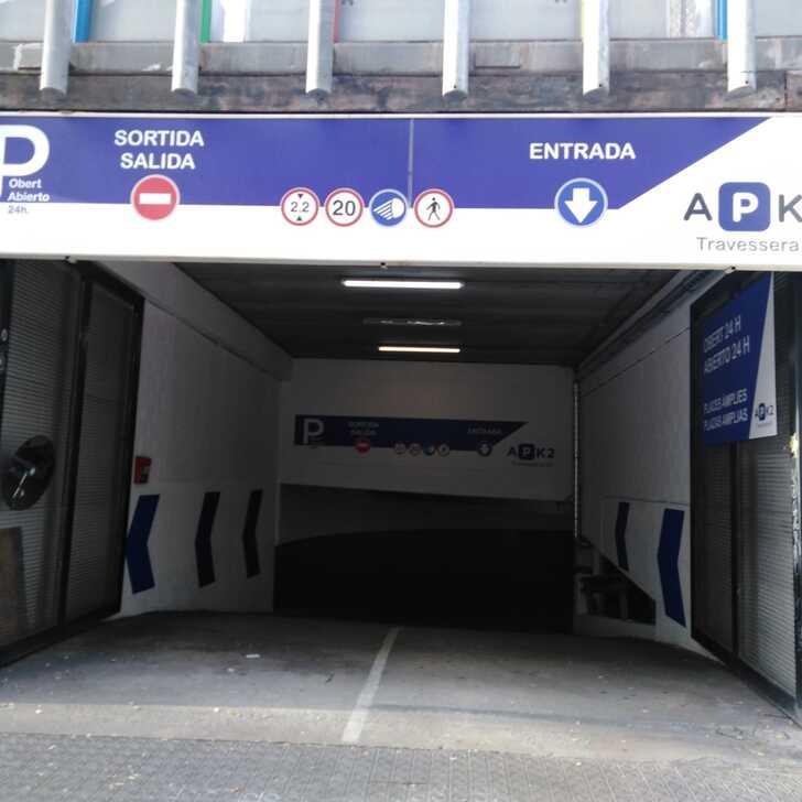 Parking Público TRAVESSERA 53 (Cubierto) Barcelona