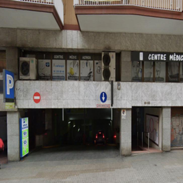 Parking Public BERLÍN NUMANCIA (Couvert) Barcelona