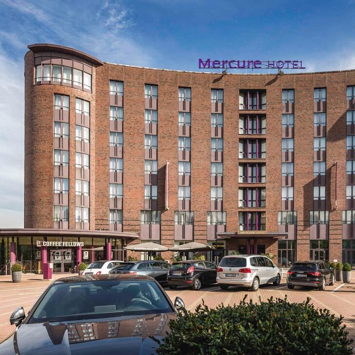 MERCURE HAMBURG CITY Hotel Car Park (External) Hamburg