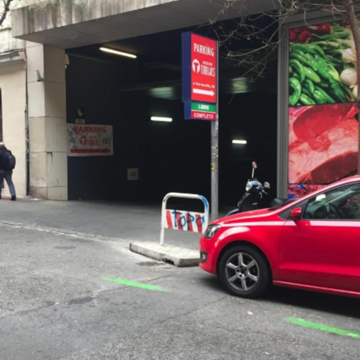 Parking Público BOX MERCADO TORRIJOS (Cubierto) Madrid