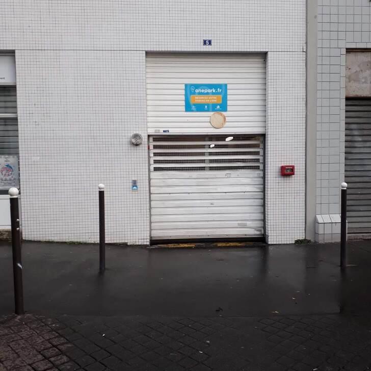Parking Residencia 5 RUE HENRI MICHAUX (Cubierto) Paris