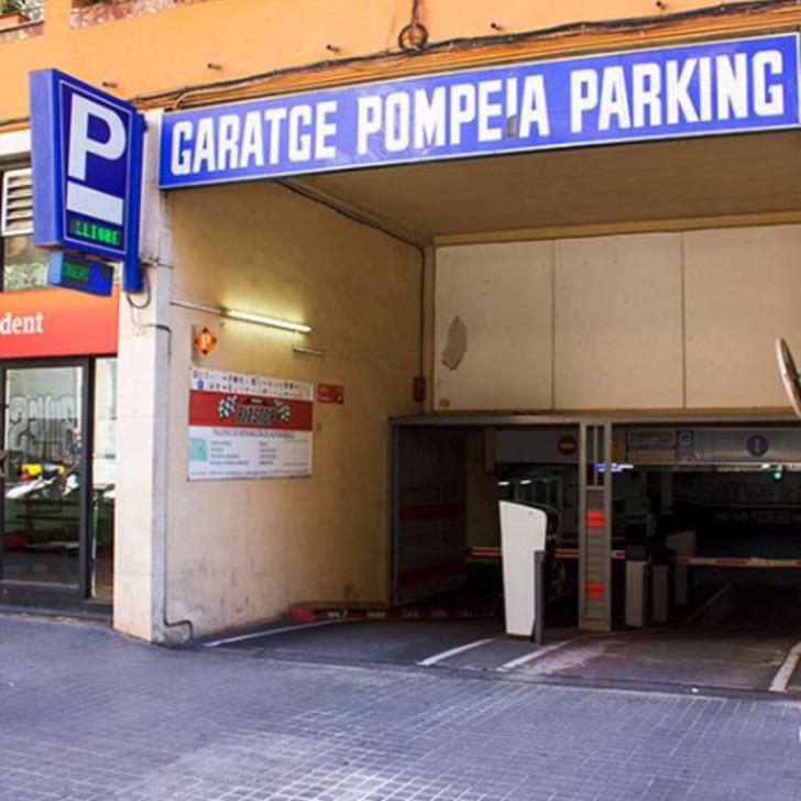 Parking Público TRAVESSERA POMPEIA (Cubierto) Barcelona