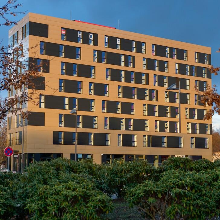 Parking Hotel MEININGER HOTEL FRANKFURT AIRPORT (Cubierto) Frankfurt am Main