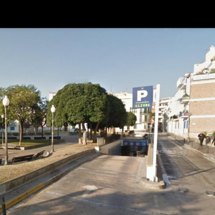 Parking Public CONTINENTAL - PLAÇA ESPAÑA – SITGES (Couvert) Sitges