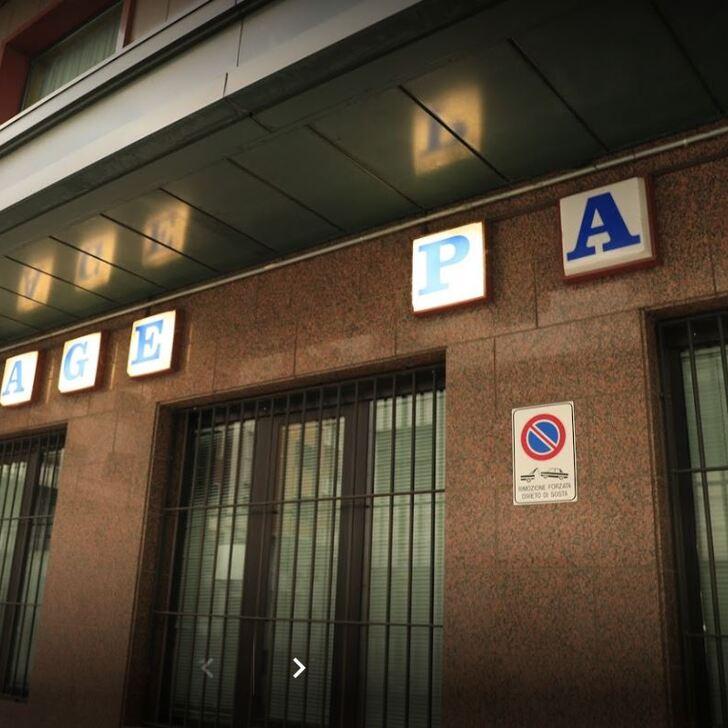 Parking Público GARAGE PALACE (Cubierto) Milano