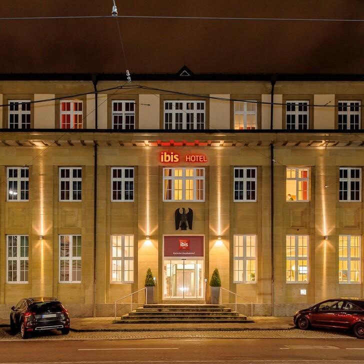 Parking Hôtel IBIS KARLSRUHE HAUPTBAHNHOF (Extérieur) Karlsruhe