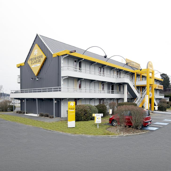 PREMIERE CLASSE PESSAC Hotel Parking (Exterieur) Pessac-Becquerel