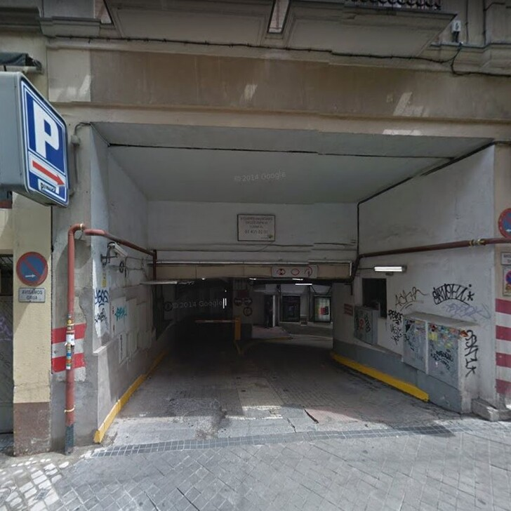 Parking Public APK2 ISABEL LA CATOLICA (Couvert) Madrid