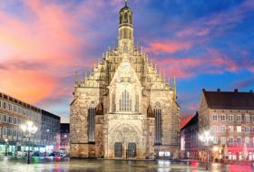 Parkings Centre-ville de Nuremberg - Réservez au meilleur prix