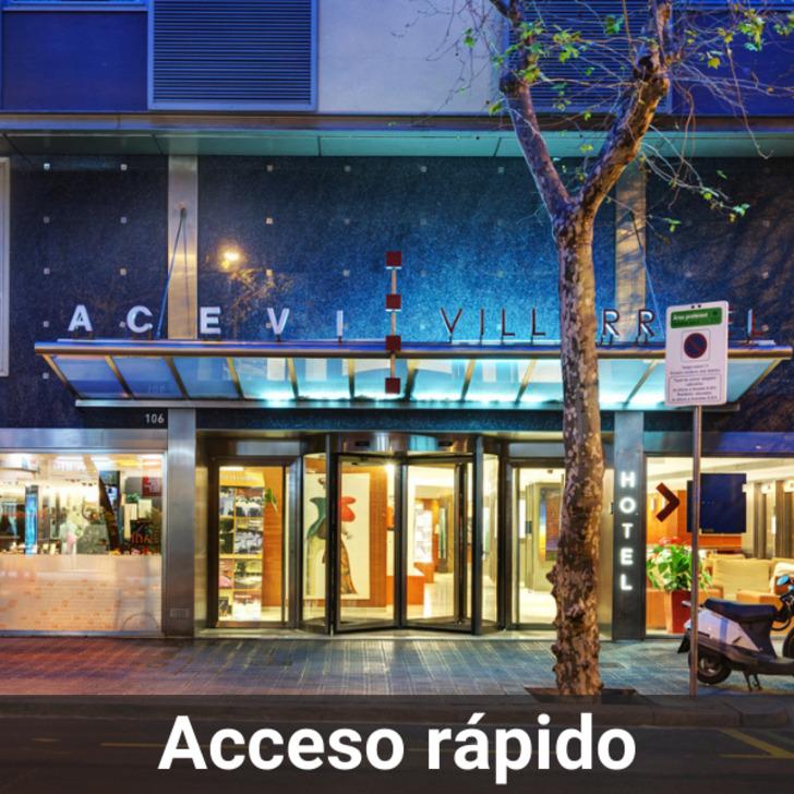 Estacionamento Hotel ACEVI VILLARROEL (Coberto) Barcelona
