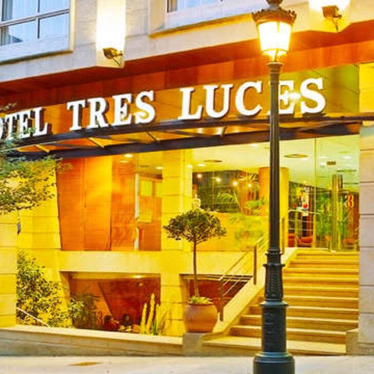 SERCOTEL TRES LUCES Hotel Parking (Overdekt) Vigo