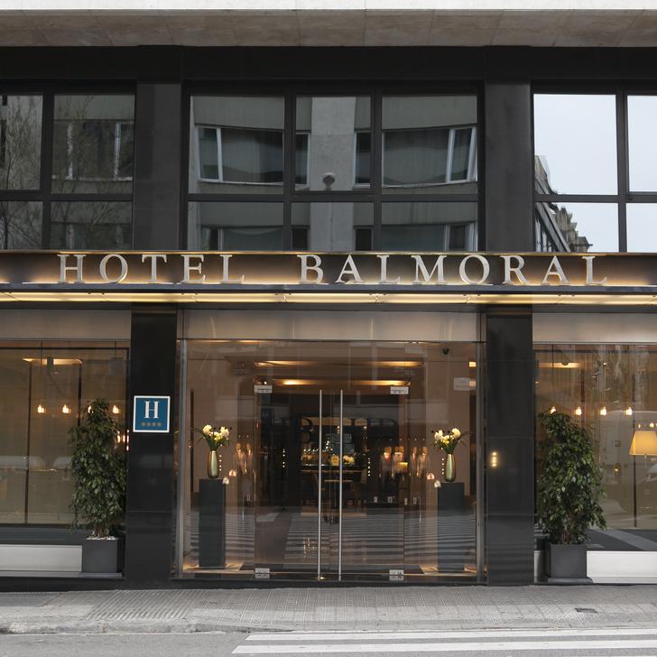 Parking Hotel ABBA BALMORAL (Cubierto) Barcelona