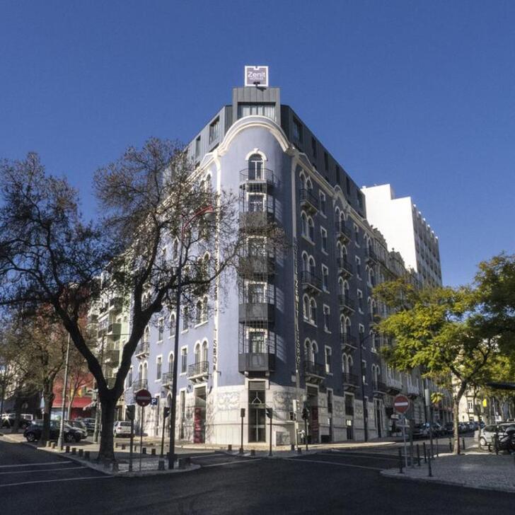 Parking Hôtel ZENIT LISBOA (Couvert) Lisboa
