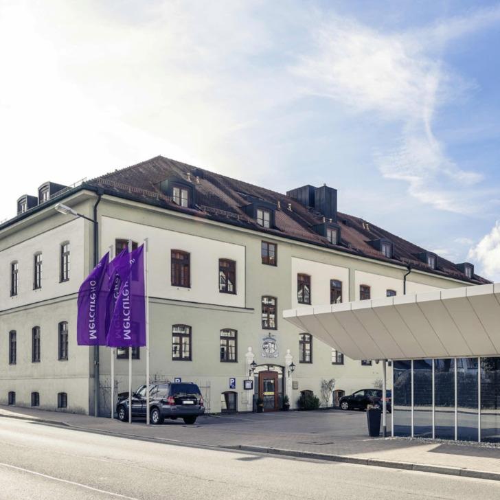 Parking Hôtel MERCURE MÜNCHEN AIRPORT FREISING (Couvert) Freising