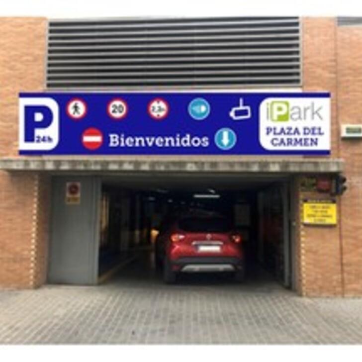 Parking Público IPARK PLAZA DEL CARMEN (Cubierto) Vélez-Málaga