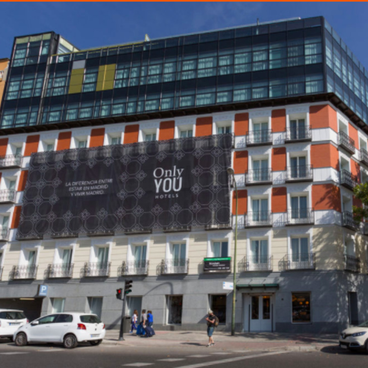 Parking Hotel ONLY YOU ATOCHA (Cubierto) Madrid