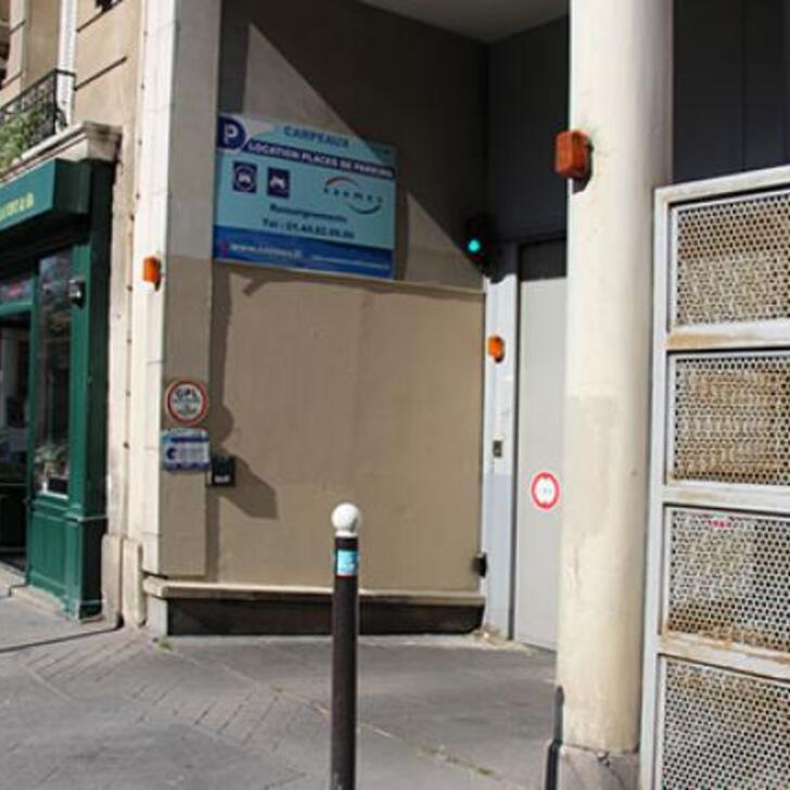 SAEMES CARPEAUX Parking Privaat Gebouw (Overdekt) Paris