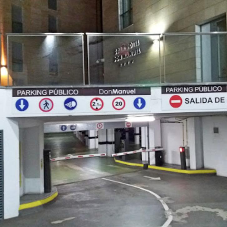 DON MANUEL Public Car Park (Covered) Cáceres