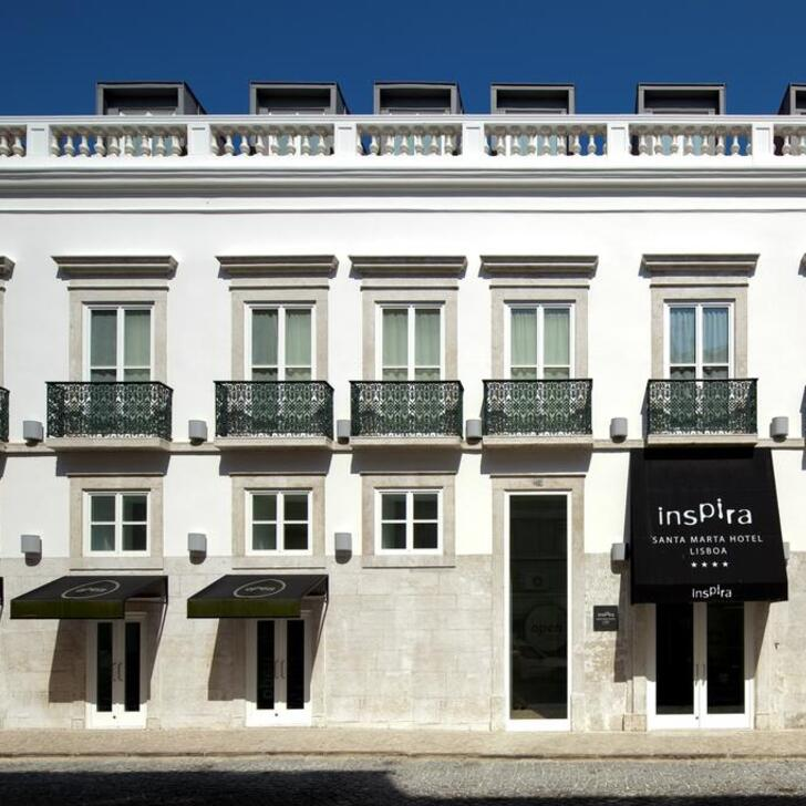 Estacionamento Hotel APARC INSPIRA LIBERDADE BOUTIQUE (Coberto) Lisboa