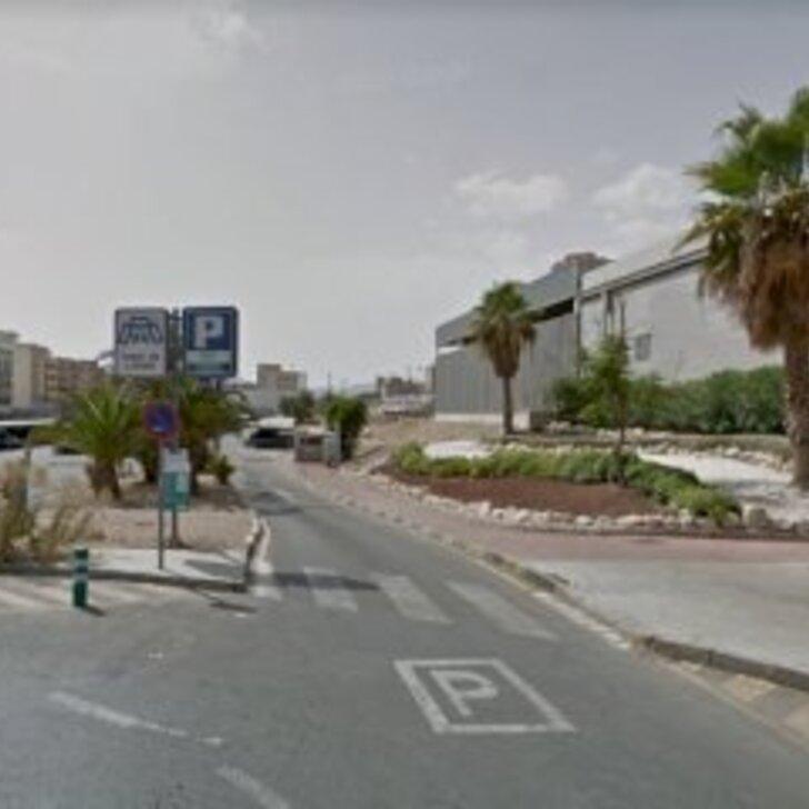 SABA ESTACIÓN TREN ALICANTE - Public Car Park Weekend price (Covered) Alicante