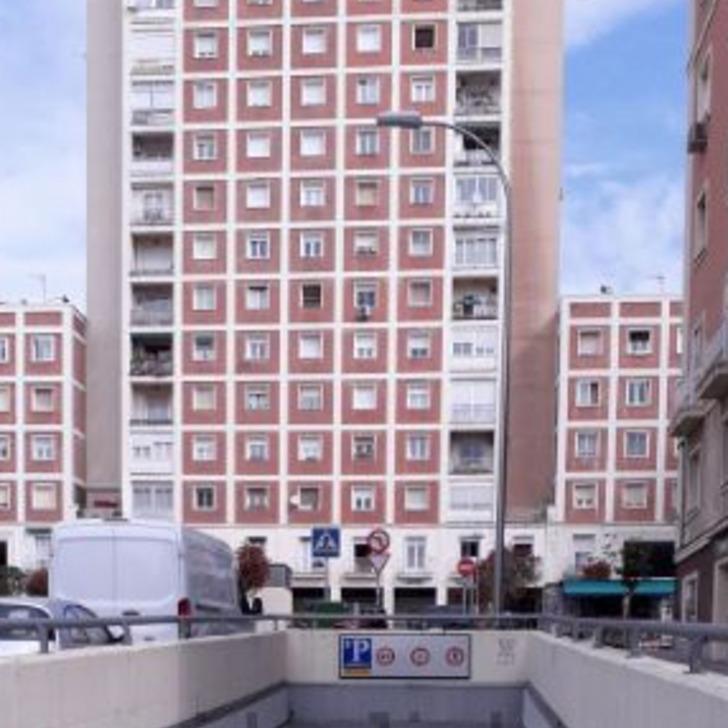 Parking Público VIRGEN DEL ROMERO (Cubierto) Madrid
