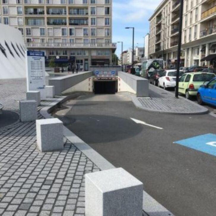 EFFIA LE HAVRE LES HALLES Official Car Park (Covered) Le Havre
