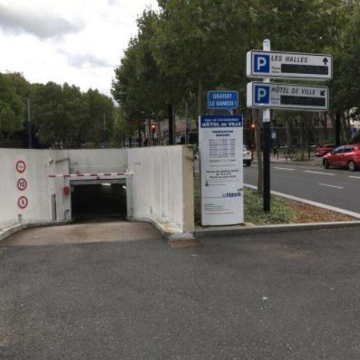 Parking Officiel EFFIA LE HAVRE HÔTEL DE VILLE (Couvert) Le Havre