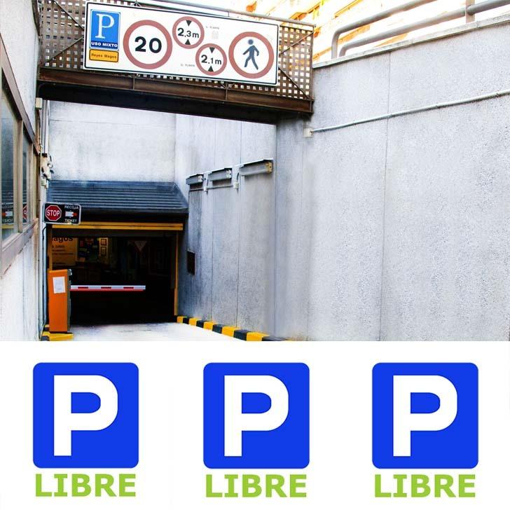 Parking Público ATOCHA RETIRO REYES MAGOS (Cubierto) Madrid