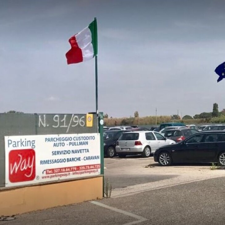 Estacionamento Serviço de Valet PARKING WAY (Exterior) Fiumicino