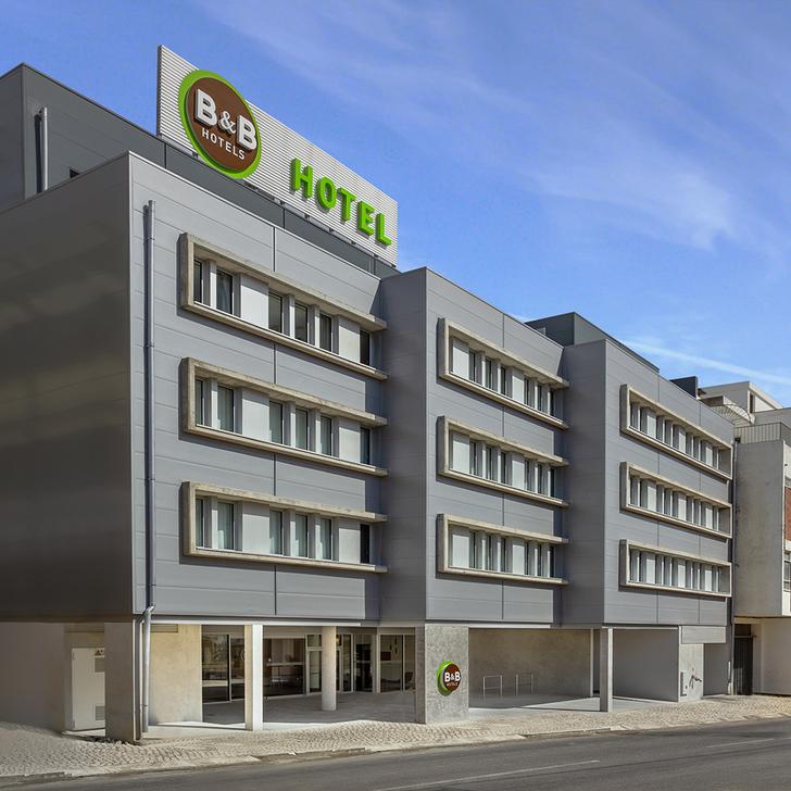 Parking Hôtel B&B HOTEL LISBOA AEROPORTO (Couvert) Lisboa