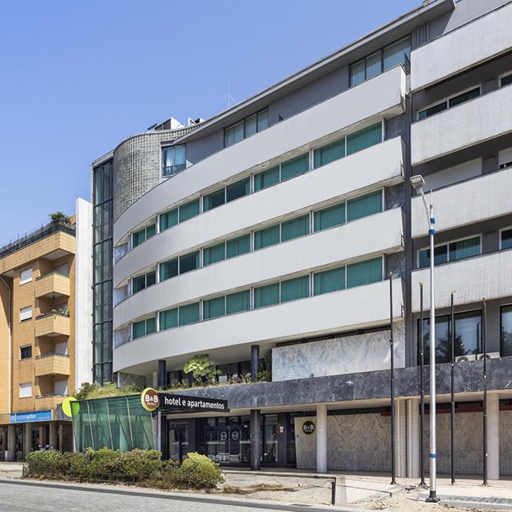 Parking Hôtel B&B E APARTAMENTOS FELGUEIRAS (Couvert) Felgueiras