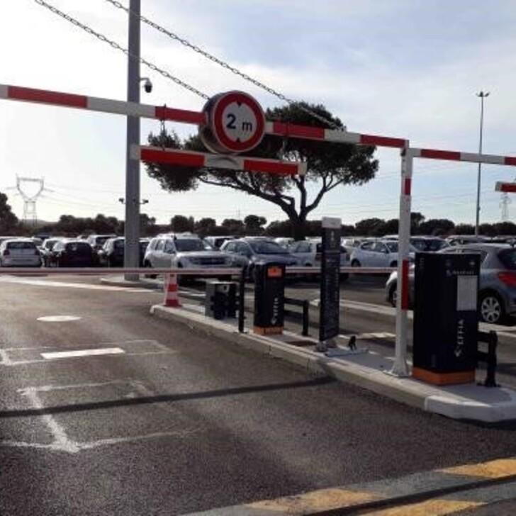 EFFIA GARE D'AIX-EN-PROVENCE TGV P13 Officiële Parking (Exterieur) Aix-en-Provence