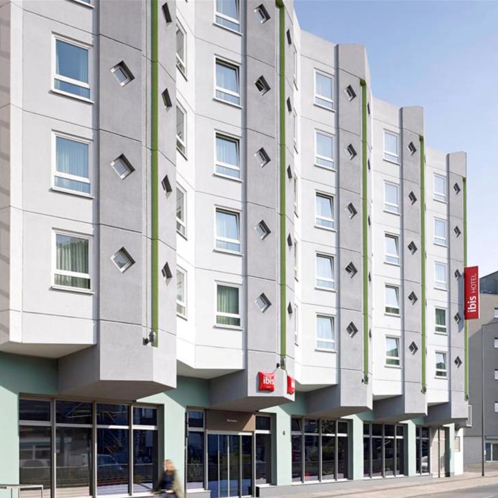 Parking Hôtel IBIS HOTEL KÖLN CENTRUM (Couvert) Köln