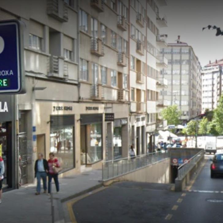 Parking Public COPARK PLAZA ROJA (Couvert) Santiago de Compostela